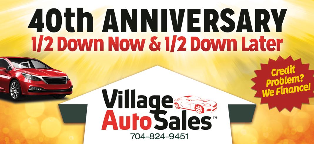 Mcadenville Motors Inventory >> Village Auto Sales Of Gastonia Nc Establish Your Credit Here